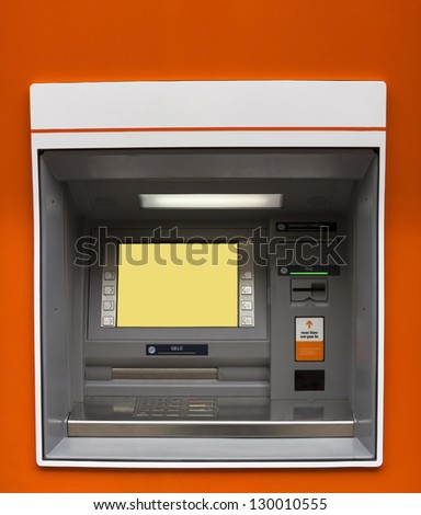 ATM machine - stock photo