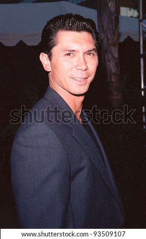 "10AUG99: Actor LOU DIAMOND PHILLIPS at the Los Angeles premiere of  ""Bowfinger"" which stars Eddie Murphy & Steve Martin.  Paul Smith / Featureflash - stock photo"