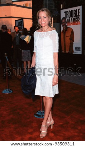 "10AUG99: ""Young & the Restless"" star TAMARA CLUTTERBUCK at the Los Angeles premiere of  ""Bowfinger"" which stars Eddie Murphy & Steve Martin.  Paul Smith / Featureflash - stock photo"