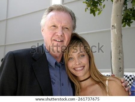 26 August 2004 - Culver City, California - Jon Voight and Anastasia Trovato. 'Superbabies: Baby Geniuses 2' film premiere at the Sony Pictures Studios in Culver City.