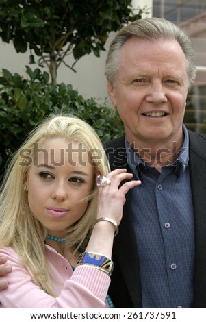 26 August 2004 - Culver City, California - Skylar Shaye and Jon Voight. 'Superbabies: Baby Geniuses 2' film premiere at the Sony Pictures Studios in Culver City.