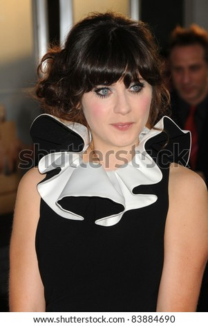 "16 August 2011 - Hollywood, California - Zooey Deschanel. ""Our Idiot Brother"" Los Angeles Premiere held at Arclight Cinemas. Photo Credit: Byron Purvis/AdMedia"