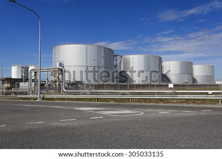 Australia's Industrial Warehouse - stock photo