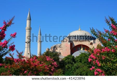 Ayasofya, Sultanahmet, Istanbul, Turkey - stock photo