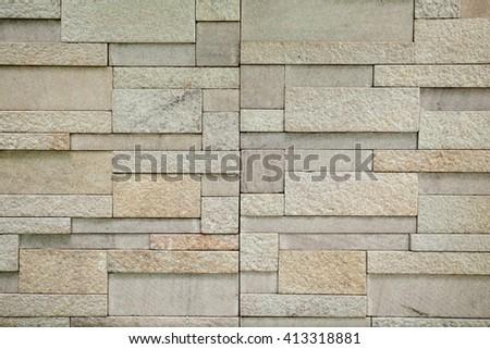 background . brick wall - stock photo