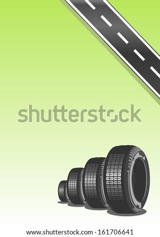 background of car design - stock photo