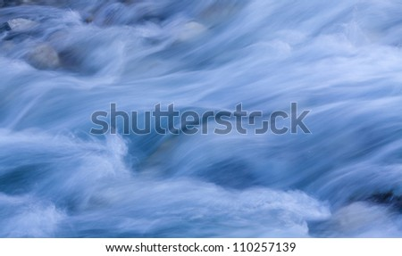 background of Storm stream water - stock photo