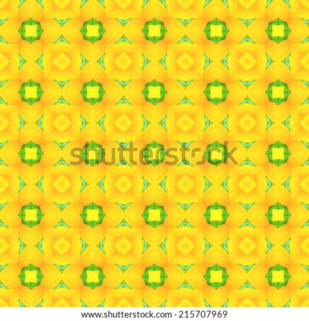 background seamless pattern ,created technique from flower  - stock photo