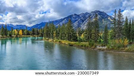 Banff, Alberta, Canada - stock photo