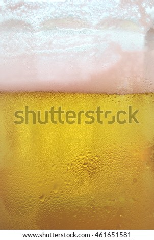 beer the background