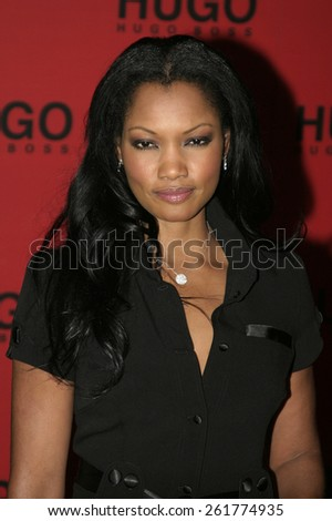03/15/2005 - Beverly Hills - Garcelle Beauvais at the Hugo Boss Fall Winter 2005 Men's and Women's Collections Party and Fashion Show - Arrivals at The Beverly Hills Hotel. - stock photo