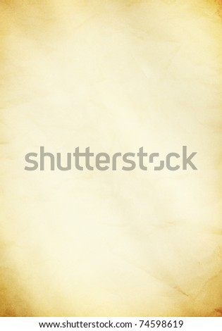 (Billboard Background) Old Paper Template Design - stock photo