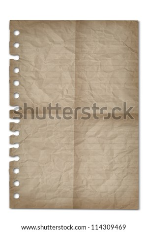 blank old paper background
