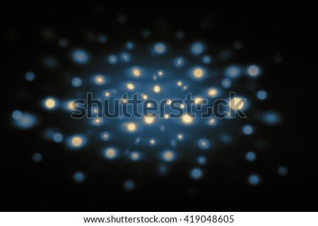 blur spot lights background