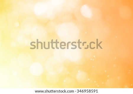 bokeh Backgrounds color gold - stock photo