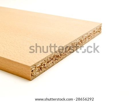 bonded wood - stock photo
