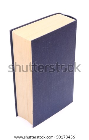 book over white background