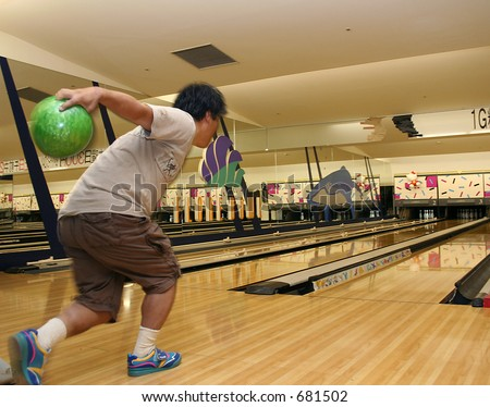 Bowling Game - stock photo