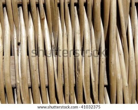 braided willow - stock photo