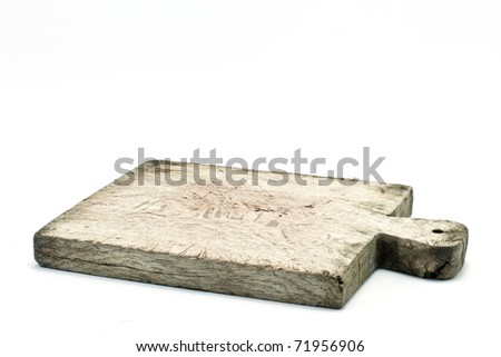 ,breadboard vintage for the kitchen, - stock photo