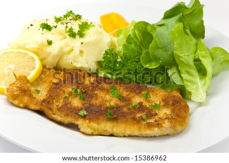 """breaded pork chop"""