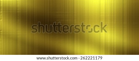 Bright yellow gold texture panoramic background  - stock photo