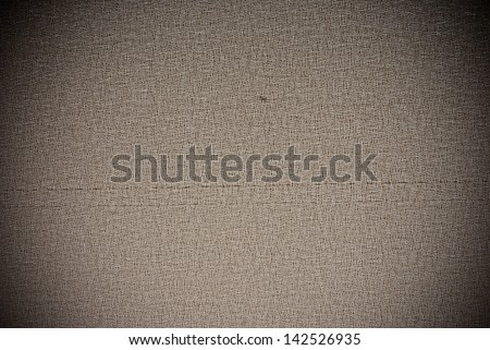 Brown grunge synthetic material roller blind background or texture