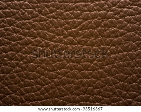 brown leather background. - stock photo