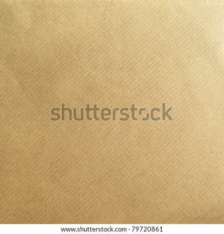 Brown paper as a grunge background - stock photo