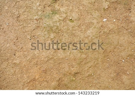 brown soil detail natural background - stock photo