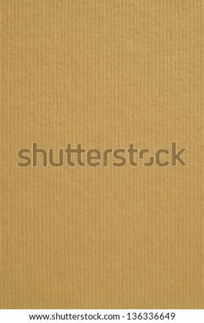 Cardboard  tan background - stock photo