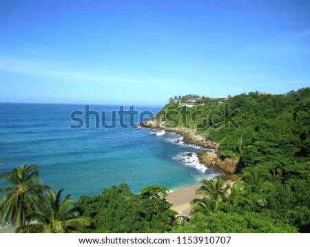 stock-photo--carizalillo-beach-puerto-es