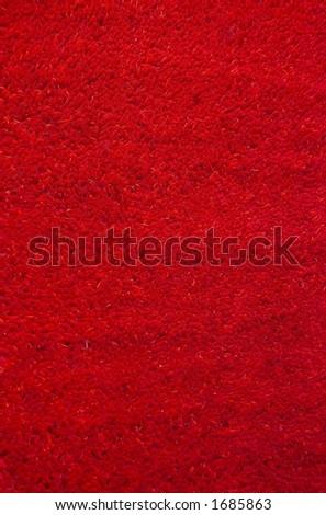 Carpet Texture - red - stock photo