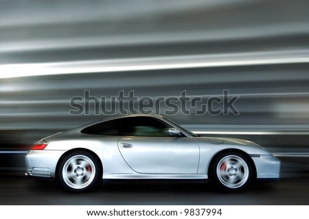 carrera 4 s - stock photo