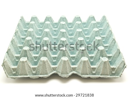carton of eggs - stock photo