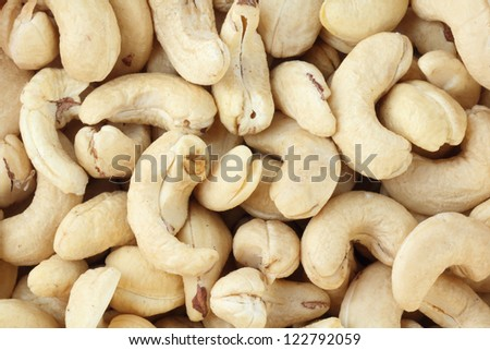 cashew nuts  background
