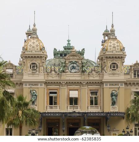 Casino in Monte Carlo, Monaco - stock photo