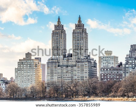 300 Central Park West Apartments - stock photo