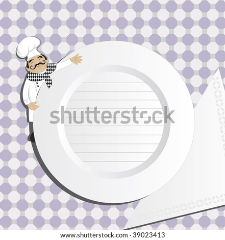 Chef (in the gallery also available vector version of this image)