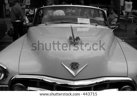 57 chevy - stock photo