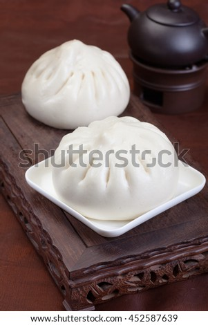 Chinese traditional food, bread - stock photo