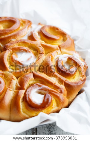 """Chinois Alsacien"" french Cake - stock photo"