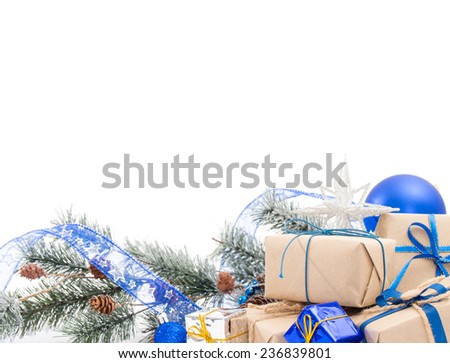 Christmas Decoration , Isolated on white background