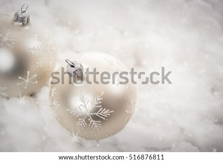 christmas decorations - holiday background