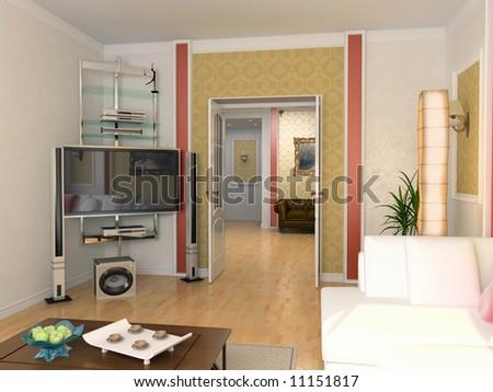 Classic Interior Design (private Apartment 3d ) Picture From Author