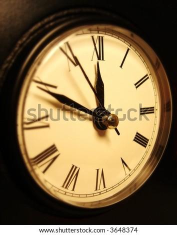 clock 3 - stock photo