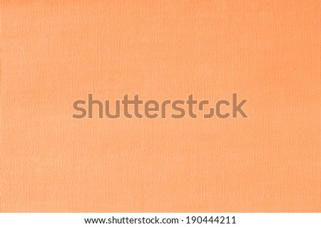 Close-up salmon fabric texture background - stock photo