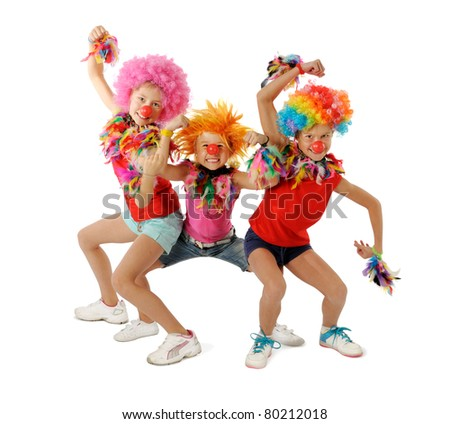 Clowns - stock photo