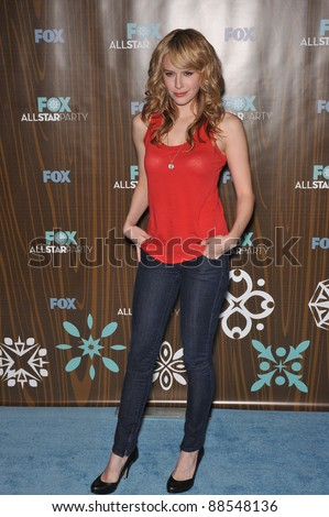 """Code 58"" star Jenny Wade at the Fox TV All-Star Party at Villa Sorisso, Pasadena, CA. January 11, 2010  Pasadena, CA Picture: Paul Smith / Featureflash - stock photo"