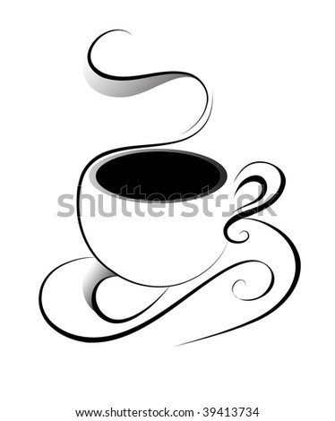 Coffee(jpeg)in the gallery also available vector version of this image - stock photo